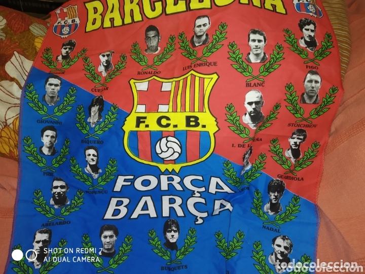 Coleccionismo deportivo: lote banderines banderas llaveros guantes boxeo camiseta larsson nº7 llaveros gorras fc barcelona - Foto 26 - 165610704