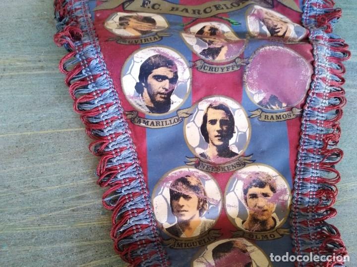 Coleccionismo deportivo: Antiguo banderín del F.C. Barcelona (Leer Descripción) - Foto 3 - 173811843