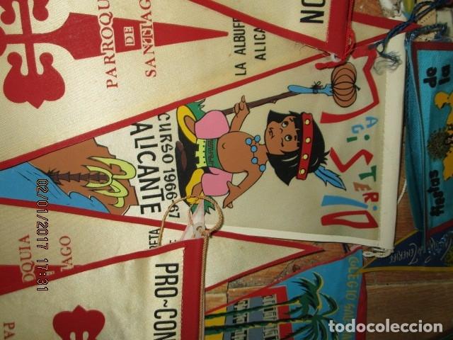 Coleccionismo deportivo: gran LOTE 30 BANDERINES VARIADOS ANTIGUOS CIUDADES ESPAÑA EUROPA DOMUND CANARIAS ALICANTE ETC - Foto 30 - 134900902
