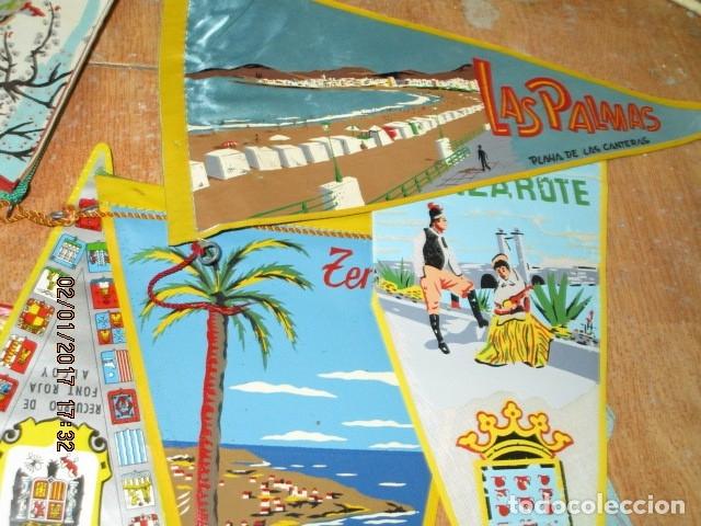 Coleccionismo deportivo: gran LOTE 30 BANDERINES VARIADOS ANTIGUOS CIUDADES ESPAÑA EUROPA DOMUND CANARIAS ALICANTE ETC - Foto 32 - 134900902