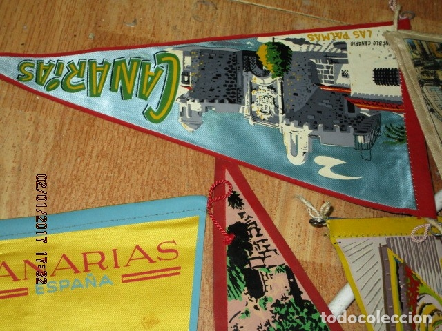 Coleccionismo deportivo: gran LOTE 30 BANDERINES VARIADOS ANTIGUOS CIUDADES ESPAÑA EUROPA DOMUND CANARIAS ALICANTE ETC - Foto 37 - 134900902