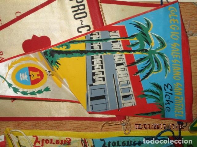 Coleccionismo deportivo: gran LOTE 30 BANDERINES VARIADOS ANTIGUOS CIUDADES ESPAÑA EUROPA DOMUND CANARIAS ALICANTE ETC - Foto 38 - 134900902