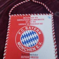 Coleccionismo deportivo: BANDERIN FUTBOL BAYERN. Lote 174980214