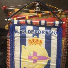 Coleccionismo deportivo: BANDERIN R. C. DEPORTIVO LA CORUÑA 31X23. Lote 175653037
