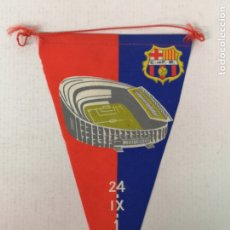 Coleccionismo deportivo: BANDERIN CLUB DE FÚTBOL BARCELONA 1957. Lote 176009258