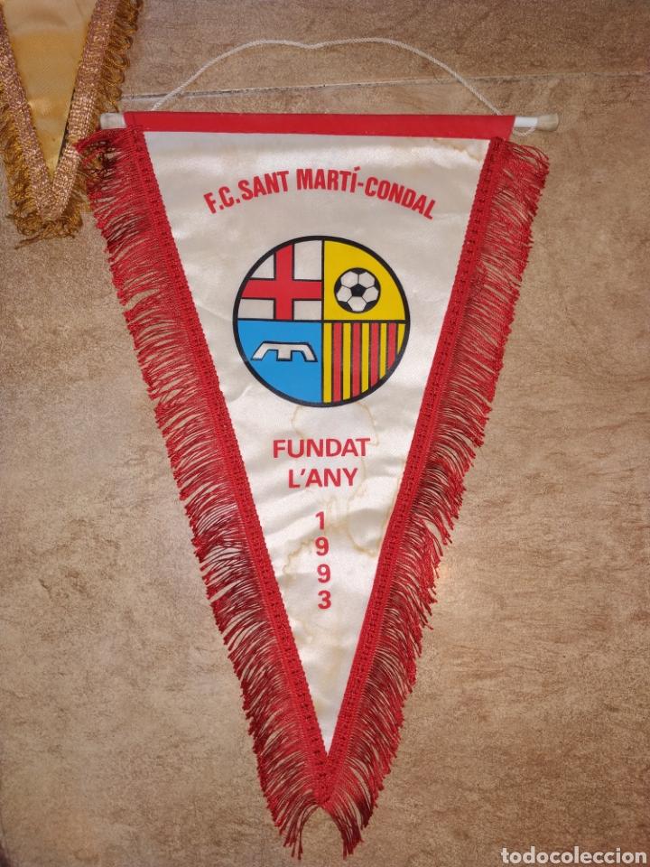 Coleccionismo deportivo: Lote banderines antiguos futbol - Foto 2 - 176071422