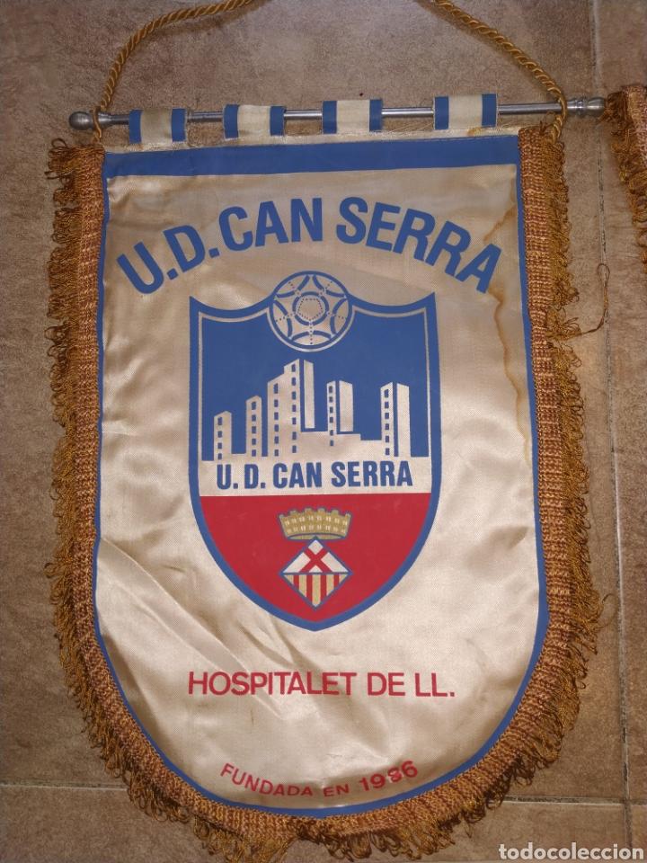 Coleccionismo deportivo: Lote banderines antiguos futbol - Foto 4 - 176071422
