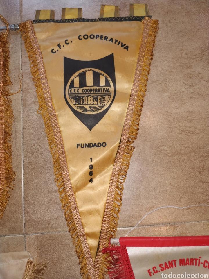 Coleccionismo deportivo: Lote banderines antiguos futbol - Foto 5 - 176071422