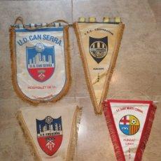 Coleccionismo deportivo: LOTE BANDERINES ANTIGUOS FUTBOL. Lote 176071422