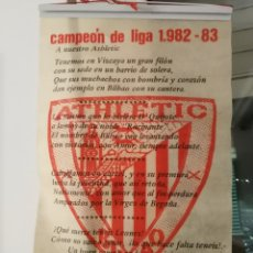 Coleccionismo deportivo: CAMPEON DE LIGA 1982/83 , 1982/1983 - ATHKETIC CLUB BILBAO. Lote 177679539