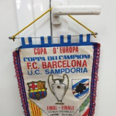 Coleccionismo deportivo: FINAL COPA DE EUROPA WEBLEY 92 FC.BARCELONA SAMPDORIA. Lote 178680176