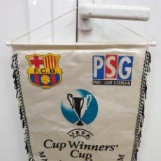 Coleccionismo deportivo: FINAL ROTERDAM 97 PSG/FC.BARCELONA. Lote 178681377