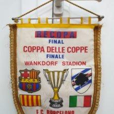 Coleccionismo deportivo: FINAL BERNA 89 FIRMADO,FC.BARCELONA /SAMPDORIA. Lote 178684383