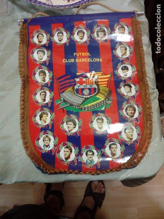 BANDERÍN FCBARCELONA 45 CM (Coleccionismo Deportivo - Banderas y Banderines de Fútbol)