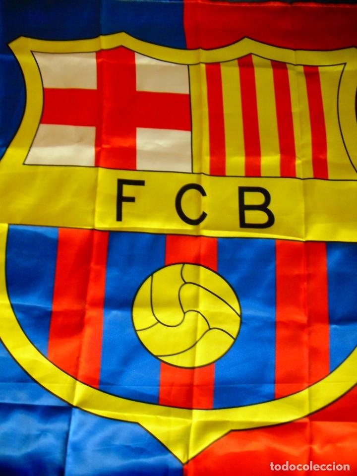 Coleccionismo deportivo: Bandera FC Barcelona - Foto 2 - 179960132