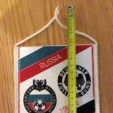 Coleccionismo deportivo: BANDERIN FUTBOL PENNANT FOOTBAL RUSIA ALEMANIA RUSSIA GERMANY 7-9-1994. Lote 180120115