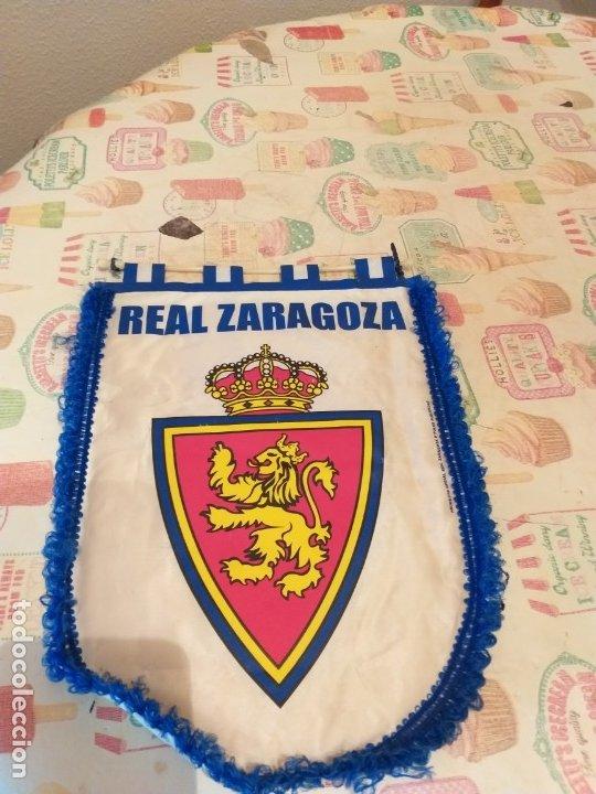 BANDERIN DEL REAL ZARAGOZA (Coleccionismo Deportivo - Banderas y Banderines de Fútbol)