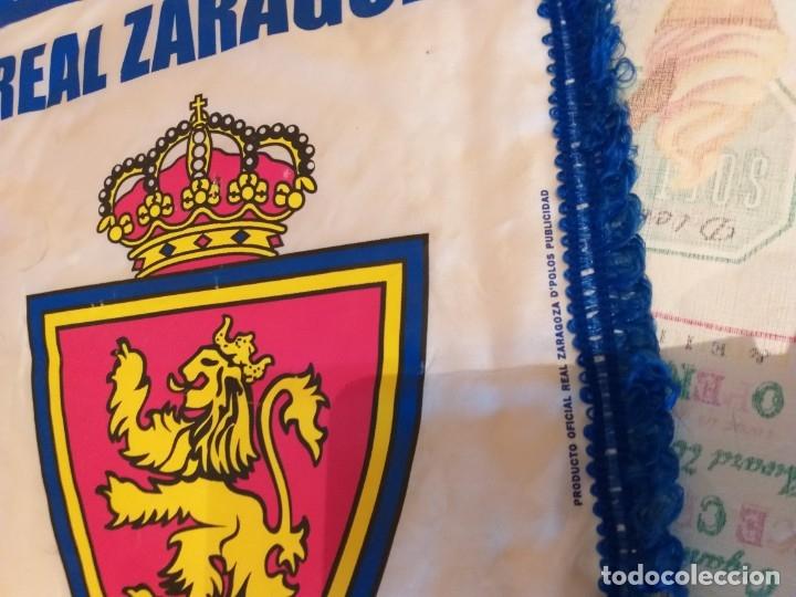 Coleccionismo deportivo: banderin del real zaragoza - Foto 2 - 181339326