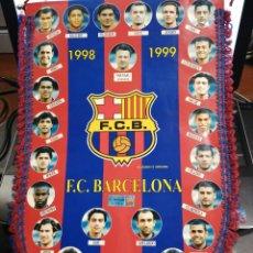 Coleccionismo deportivo: F. C. BARCELONA BANDERIN OFICIAL 1998 - 1999 PRODUCTO LICENCIADO. Lote 183406266