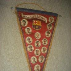 Coleccionismo deportivo: BANDERIN DEL CLUB DE FUTBOL BARCELONA DE 1974. 50 X 32 CM. Lote 183435791