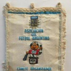 Coleccionismo deportivo: MUNDIAL ARGENTINA 1978 BANDERIN OFICIAL. Lote 184163745