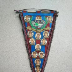 Coleccionismo deportivo: BANDERIN ANTIGUO FCB BARCELONA. Lote 184329221