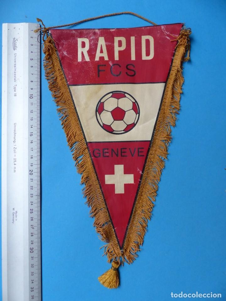 Coleccionismo deportivo: 29 BANDERINES DIFERENTS DE FUTBOL Y OLIMPIADAS - AÑOS 1960-1970 - VER FOTOS ADICIONALES - Foto 2 - 184512881