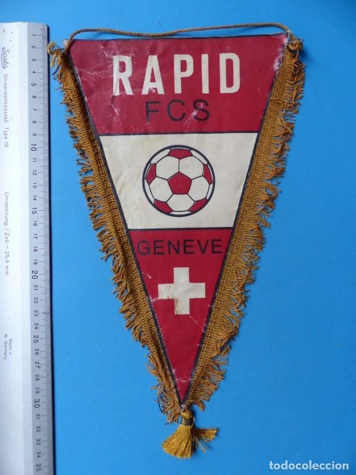 Coleccionismo deportivo: 29 BANDERINES DIFERENTS DE FUTBOL Y OLIMPIADAS - AÑOS 1960-1970 - VER FOTOS ADICIONALES - Foto 4 - 184512881