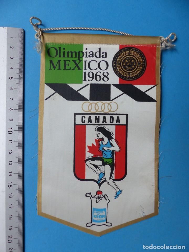 Coleccionismo deportivo: 29 BANDERINES DIFERENTS DE FUTBOL Y OLIMPIADAS - AÑOS 1960-1970 - VER FOTOS ADICIONALES - Foto 12 - 184512881