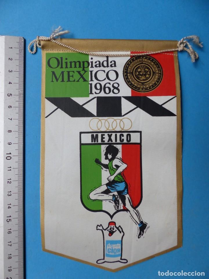 Coleccionismo deportivo: 29 BANDERINES DIFERENTS DE FUTBOL Y OLIMPIADAS - AÑOS 1960-1970 - VER FOTOS ADICIONALES - Foto 15 - 184512881