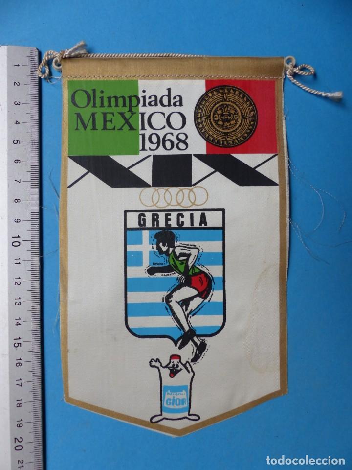 Coleccionismo deportivo: 29 BANDERINES DIFERENTS DE FUTBOL Y OLIMPIADAS - AÑOS 1960-1970 - VER FOTOS ADICIONALES - Foto 19 - 184512881