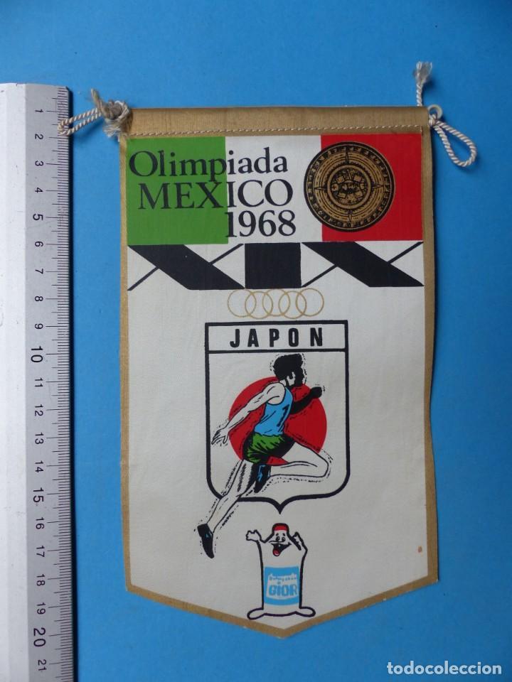 Coleccionismo deportivo: 29 BANDERINES DIFERENTS DE FUTBOL Y OLIMPIADAS - AÑOS 1960-1970 - VER FOTOS ADICIONALES - Foto 21 - 184512881