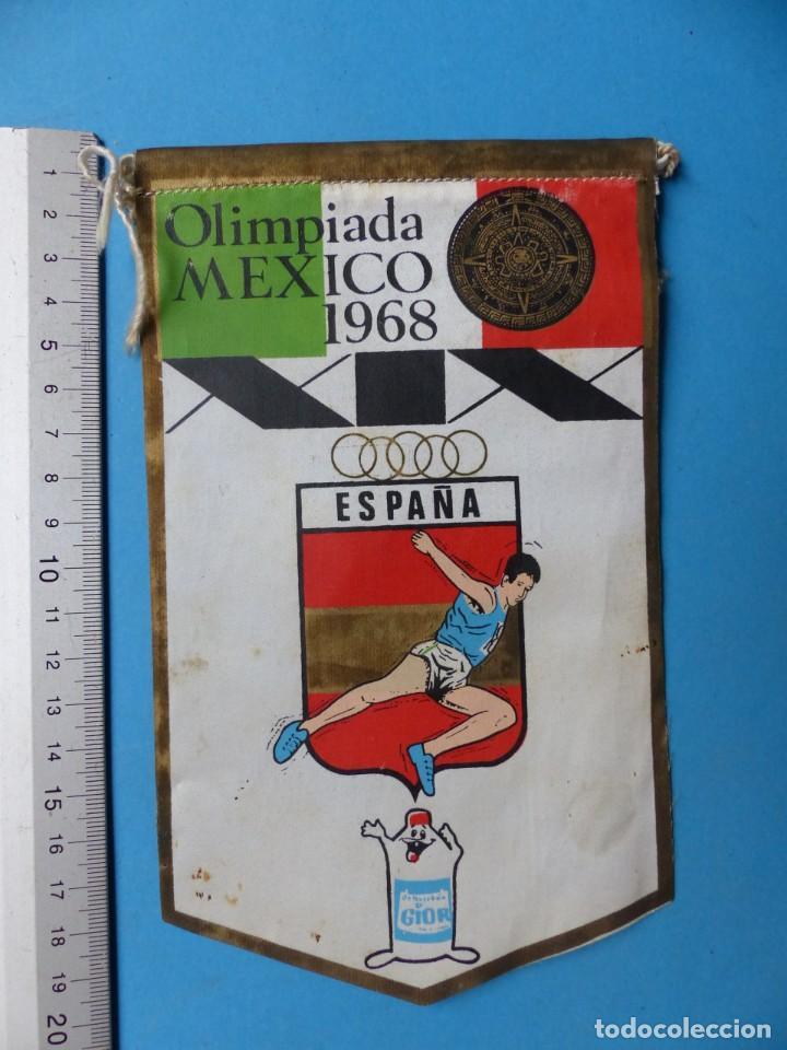 Coleccionismo deportivo: 29 BANDERINES DIFERENTS DE FUTBOL Y OLIMPIADAS - AÑOS 1960-1970 - VER FOTOS ADICIONALES - Foto 26 - 184512881