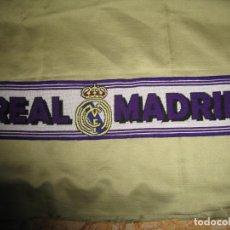 Coleccionismo deportivo: MINI BUFANDA DEL REAL MADRID PARA COCHE. Lote 184653886