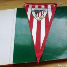Coleccionismo deportivo: ANTIGUO BANDERÍN ATHLETIC CLUB DE BILBAO. AÑOS 80. Lote 186141310