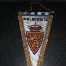 Coleccionismo deportivo: BANDERÍN REAL ZARAGOZA CD AÑOS 70. Lote 188638020