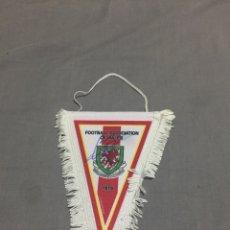 Coleccionismo deportivo: GALES BANDERIN OFICIAL FIRMADO. Lote 188802570