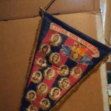 Coleccionismo deportivo: BANDERIN FUTBOL CLUB BARCELONA , TEMPORADA 76/77 ( CRUIFF REIXACH HEREDIA ZUVIRIA ASENSI NEESKENS . Lote 189248806