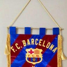 Coleccionismo deportivo: FC BARCELONA SAMPDORIA BANDERIN. Lote 190155496