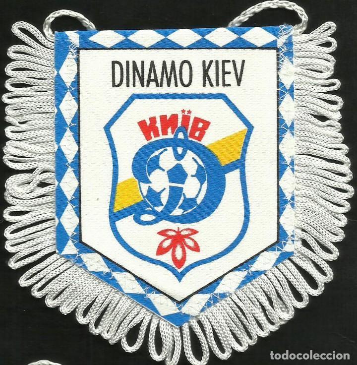 ANTIGUO BANDERIN DEL CLUB DE FUTBOL DINAMO DE KIEV (Coleccionismo Deportivo - Banderas y Banderines de Fútbol)