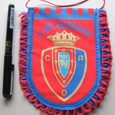 Colecionismo desportivo: BANDERIN CLUB ATLETICO CA OSASUNA PAMPLONA 12 X 15 COCHE PERFECTO ESTADO PENNANT WIMPEL R. Lote 191191868