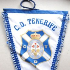 Coleccionismo deportivo: BANDERIN CD TENERIFE CANARIAS FUTBOL SPAIN 48 X 31 CM BIG OLD PENNANT FANION WIMPEL. Lote 191199870