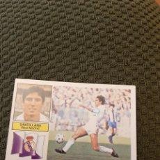 Collezionismo sportivo: EDICIONES ESTE 82 83 SANTILLANA REAL MADRID VERSIÓN ZANUSSI SIN PEGAR. Lote 191283181