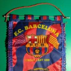 Coleccionismo deportivo: ANTIGUO BANDERÍN F.C.BARCELONA.. Lote 191624511