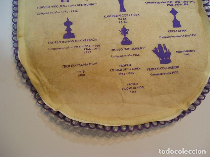 Coleccionismo deportivo: BANDERIN PLASTICO REAL MADRID CAMPEON LIGA 89 90 HISTORIAL DE TROFEOS - Foto 15 - 212088745