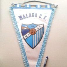 Collectionnisme sportif: BANDERIN MALAGA CF ANDALUCIA FUTBOL SPAIN NUEVO 46 X 30 CM BIG OLD PENNANT FANION WIMPEL R. Lote 217225722