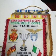 Collezionismo sportivo: BANDERIN FINAL RECOPA 99 RCD MALLORCA LAZIO. Lote 193454043