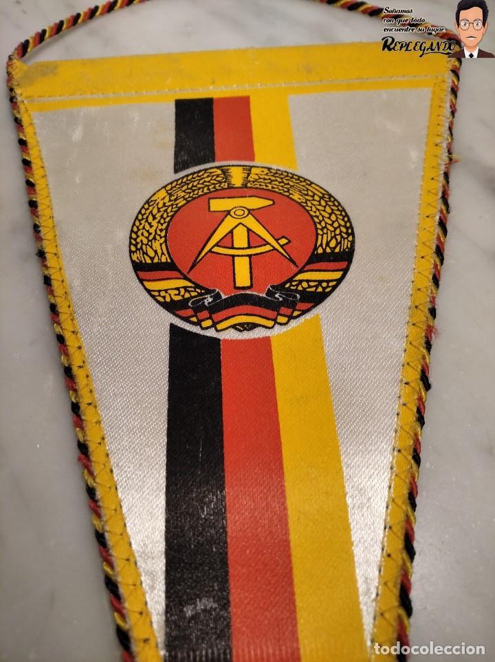 ANTIGUO BANDERÍN - TSG LUBBENAU SPREEWALD - ALEMANIA ORIENTAL - SOCIALISTA- R.D.A. (Coleccionismo Deportivo - Banderas y Banderines de Fútbol)