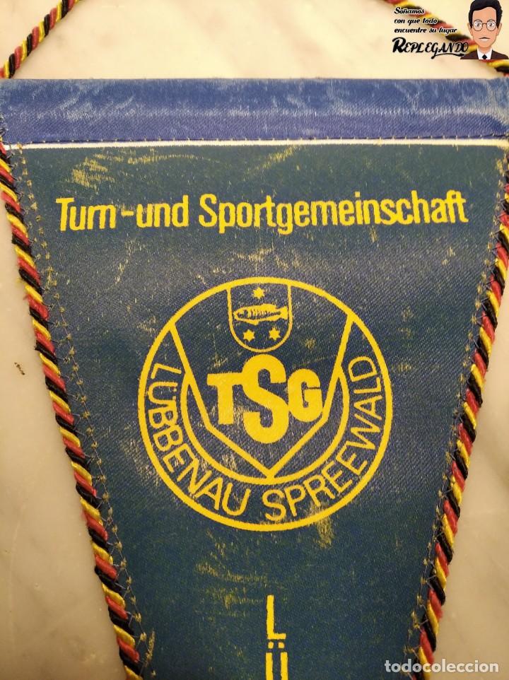 Coleccionismo deportivo: ANTIGUO BANDERÍN - TSG LUBBENAU SPREEWALD - ALEMANIA ORIENTAL - SOCIALISTA- R.D.A. _ DDR - Foto 4 - 193921715
