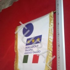 Collectionnisme sportif: TUBAL ITALIA FEDERACION ITALIANA SELECCION DE BANDERIN FUTBOL 400 GRS. Lote 194074812